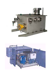 sample recovery and water chiller
